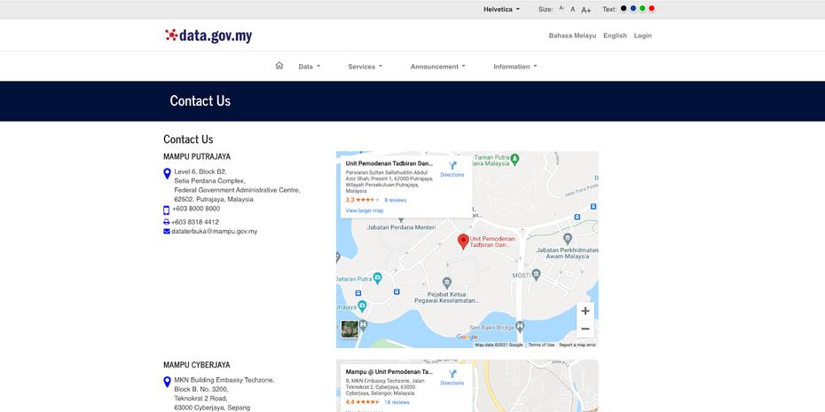 "веб-сайт с функциями доступности, такими как шрифт, размер и цвет ""width ="" 1600 ""height ="" 798"