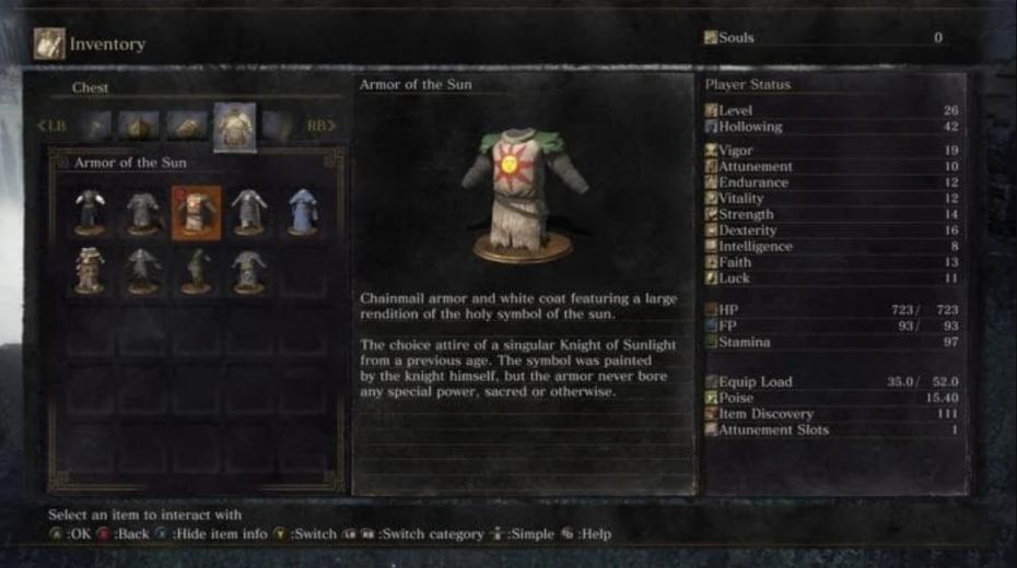 "Скриншот описания предмета Dark Souls ""width ="" 1045 ""height ="" 584"