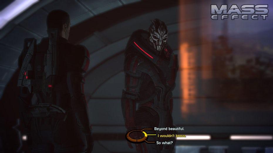 "Скриншот диалогового дерева Mass Effect ""width ="" 1280 ""height ="" 720"