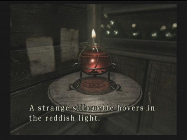 Снимок экрана игрового процесса Resident Evil