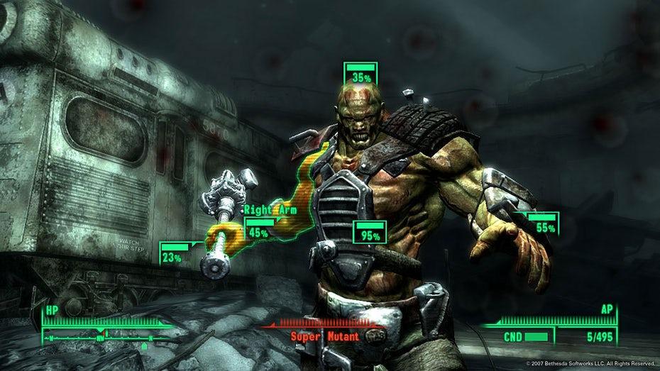 Скриншот игрового процесса Fallout 3