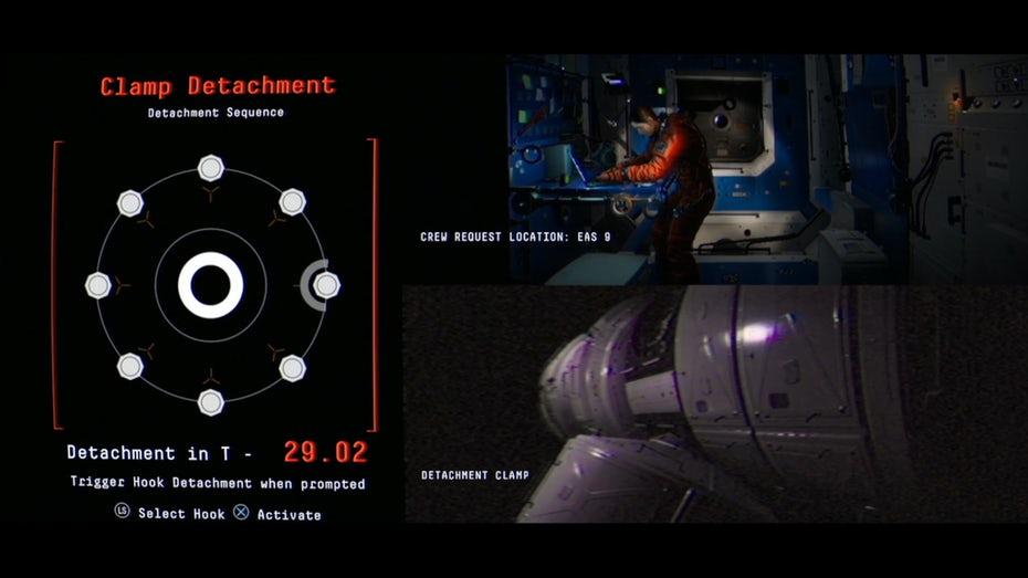 Интерфейс головоломки для игры наблюдения