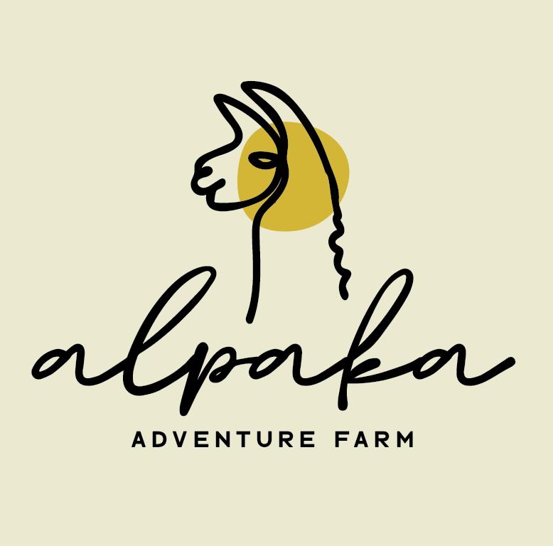 """Дизайн логотипа для приключенческой фермы альпака """"width ="""" 778 """"height ="""" 768"""