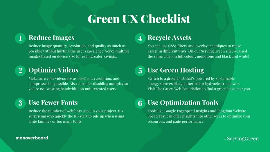 """зеленая страница с полезными советами по UX """"width ="""" 1600 """"height ="""" 900"""