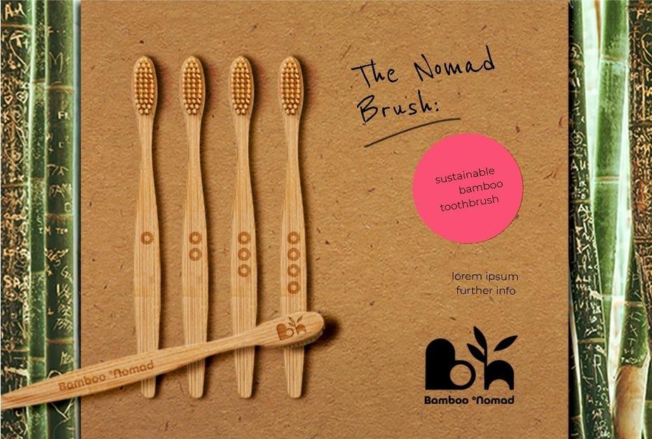 """бамбуковые зубные щетки в упаковке """"width ="""" 1001 """"height ="""" 675"""