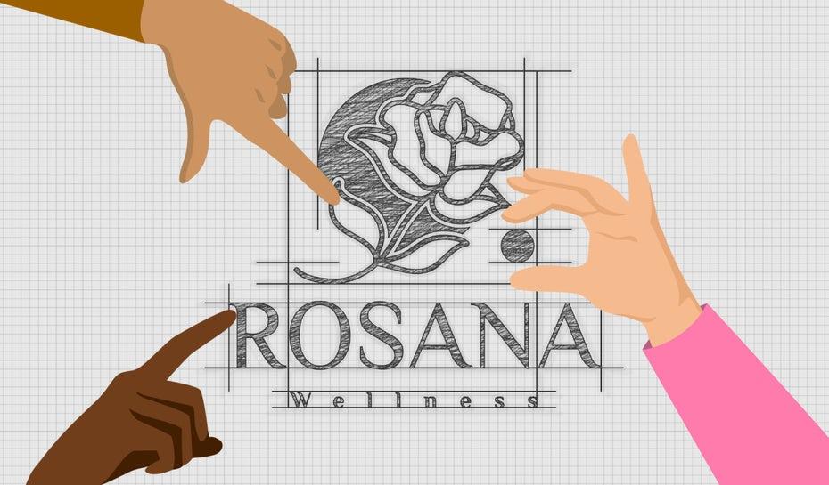 """Логотип с тремя пальцами, указывающими на разные части логотипа """"width ="""" 1280 """"height ="""" 750"""