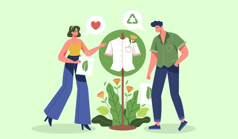 """два человека покупают экологически чистые продукты """"width ="""" 1860 """"height ="""" 1090"""