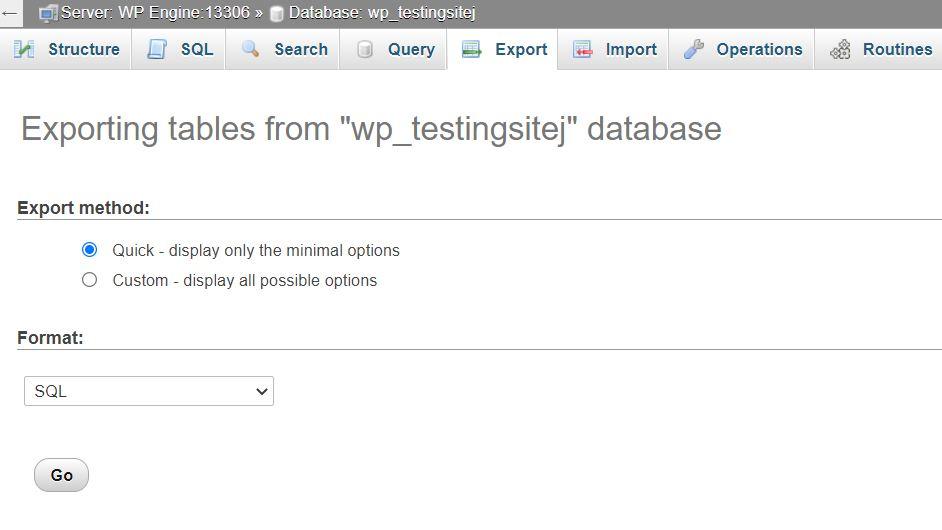"""Экспорт базы данных """"class ="""" wp-image-91223 """"width ="""" 630 """"/> </figure> </p></div> <p> База данных будет загружена как файл <em> .sql </em>. Затем вы можете перетащить этот файл в папку резервных копий, созданную на вашем компьютере, чтобы ваши файлы WordPress и база данных были сохранены в одном месте. </p> <h3><span id="""