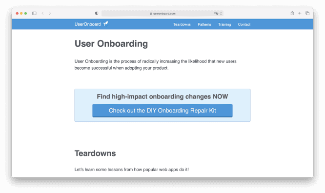 User-Onboard
