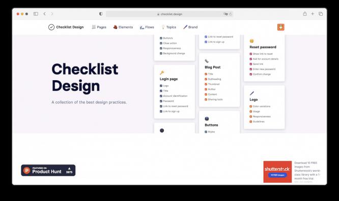 UI-Checklist