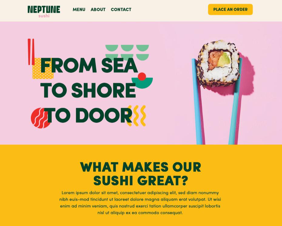 """Красочный веб-дизайн суши-ресторана """"width ="""" 950 """"height ="""" 763 """"/>    <figcaption> Веб-дизайн от Iconic Graphics </figcaption></figure> <p> Если вы впервые открываете веб-сайт (или работая с любым типом дизайнера), вы можете не понимать, что именно веб-дизайнер делает, а что не делает. Вообще говоря, веб-дизайнер возьмет голый контент веб-сайта, который вы им даете, и стилизует его в соответствии с вашим брендом и их собственный опыт в области стандартов веб-дизайна. Помня об этом, убедитесь, что у вас есть как можно больше из следующего, чтобы заранее подготовиться к успеху с веб-дизайнером: </p> <ul> <li aria-level="""