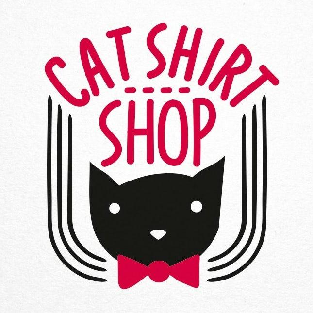 логотип магазина кошачьих рубашек