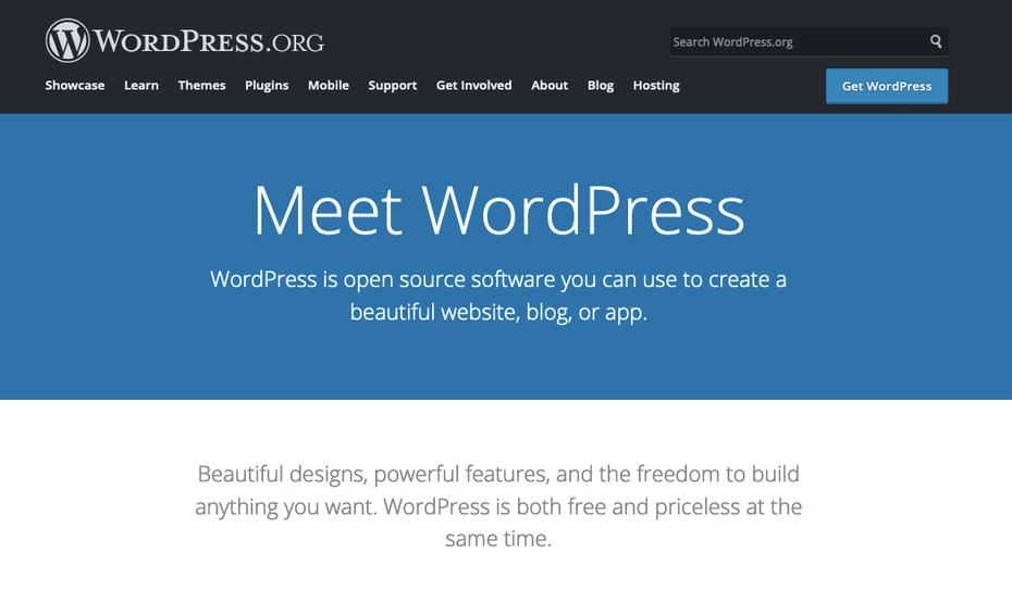 """Альтернатива Wix: WordPress """"width ="""" 1049 """"height ="""" 626 """"/>    <figcaption> Через WordPress.org </figcaption></figure> <p> Что, если вам нужно что-то более продвинутое, чем Wix… и более популярным? WordPress.org поддерживает более 35% <em> всех </em> веб-сайтов на планете, и хотя он не так удобен для пользователя, как Wix или другие альтернативы Wix, он способен создавать сложные и полностью настраиваемые сайты, просто как они вам нравятся. </p> <p> WordPress поддерживает большое сообщество сторонних разработчиков приложений, которые позволяют загружать и «подключать» различные функции, которые вы хотите использовать для своих веб-сайтов, такие как плавающие значки социальных сетей или специальные видеоплееры. Это одна из его самых сильных сторон — его функции постоянно расширяются. </p> <p> Обратной стороной является кривая обучения. Хотя он по-прежнему подходит для новичков, большинству людей придется посвятить некоторое время изучению веревок (у нас есть краткое руководство по созданию сайта WordPress, которое поможет вам). Цена также может быть сложной; хотя технически это бесплатно, вам все равно придется платить за хостинг от третьей стороны, не говоря уже о стоимости любых надстроек или платных тем, которые вы хотите добавить на свой сайт. </p> <h4><span id="""