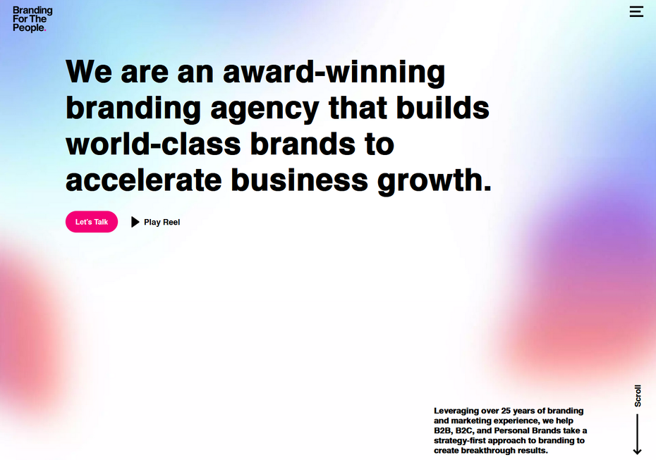"""Важность брендинга веб-сайтов. """"Width ="""" 1452 """"height ="""" 1020 """"/>    <figcaption> Брендинг может улучшить или сломать ваш веб-сайт через брендинг для народа. </figcaption></figure> <p> Подумайте об общих веб-страницах. Вы можете представить себе некоторые веб-сайты, с которыми сталкивались, но сколько их названий вы помните? Именно здесь на помощь приходит брендинг. </p> <p> Branding for the People — агентство по брендингу, которое демонстрирует, насколько эффективный брендинг может сделать ваш веб-сайт популярным. Визуальные эффекты, последовательность и типографика их сайта прекрасно сочетаются друг с другом, создавая согласованный и приятный опыт. Свежие градиенты, яркие цвета, жирный текст и чистота делают сайт популярным, что производит подлинно сильное впечатление. Брендинг придает вашему сайту малого бизнеса характер и индивидуальность. </p> <p> Последовательный брендинг по всем каналам, включая веб-сайты, маркетинг и платформы социальных сетей, обеспечивает аутентичность. Это также увеличивает вероятность того, что посетители нажмут на ваш CTA. </p> <h3><span id="""