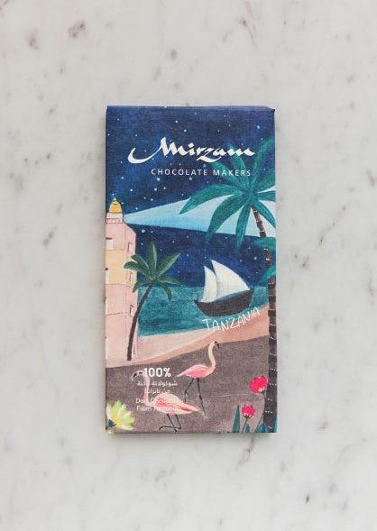 Второй иллюстративный дизайн упаковки шоколада через Mirzam