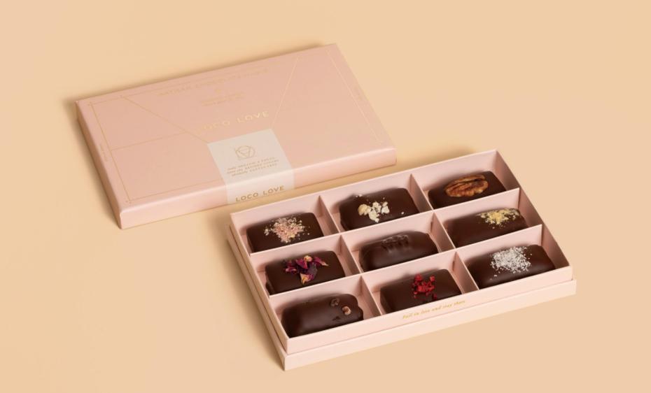 "Красивый дизайн шоколадной коробки от Loco Love ""width ="" 1029 ""height ="" 622"