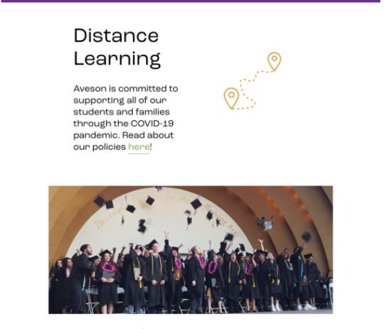 """Информация о дистанционном обучении и COVID 19 на школьном веб-сайте """"width ="""" 548 """"height ="""" 462"""