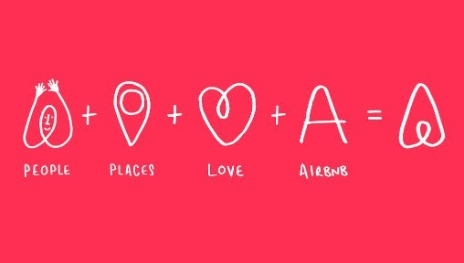 Логотипы Airbnb