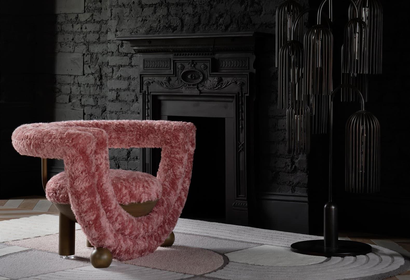 Кресло Kissing из коллекции Afternoon Tea от Bohinc Studio