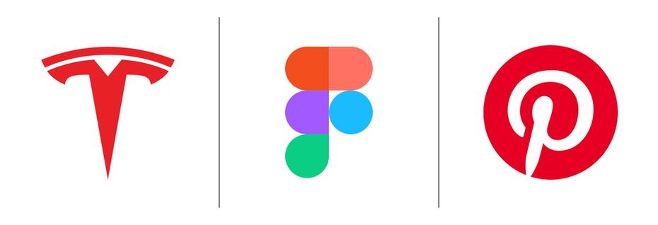 """Логотипы Tesla, Figma, Pinterest """"width ="""" 1900 """"height ="""" 650 """"/>    <figcaption> Tesla, Figma и Pinterest — это не монограммы, а буквенные формы. </figcaption></figure> <figure data-id="""